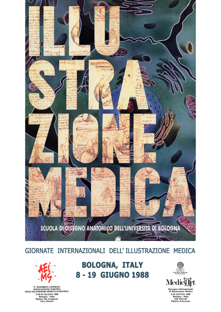 intenational day of biomedical illustration bologna 1988
